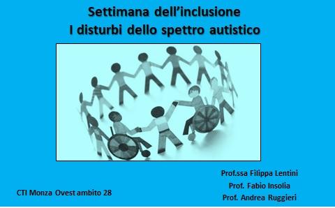 Settimana dell'inclusione. I disturbi dello spettro autistico