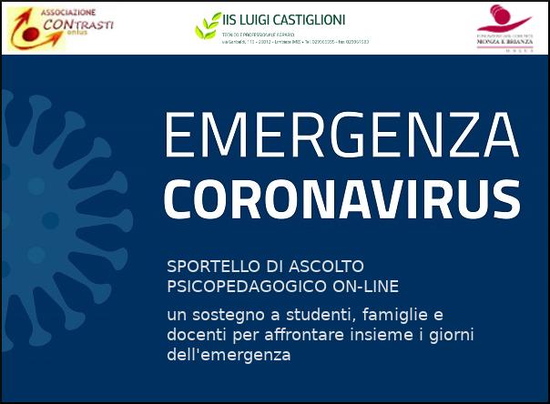 Sportello on-line di consulenza e sostegno psicologico per aiutare famiglie e studenti
