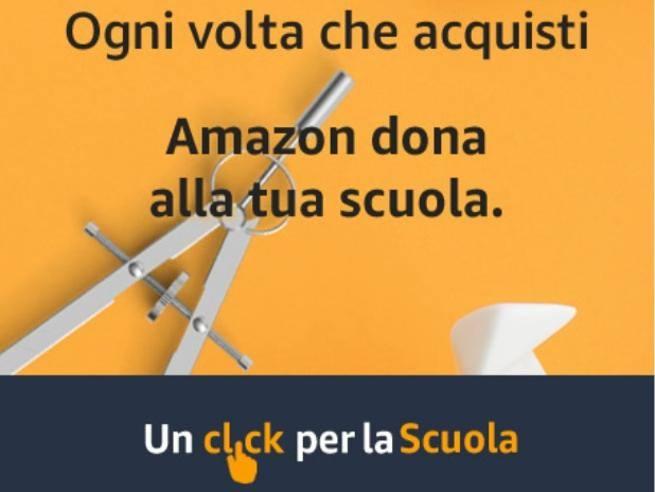 Con Amazon supporti la scuola